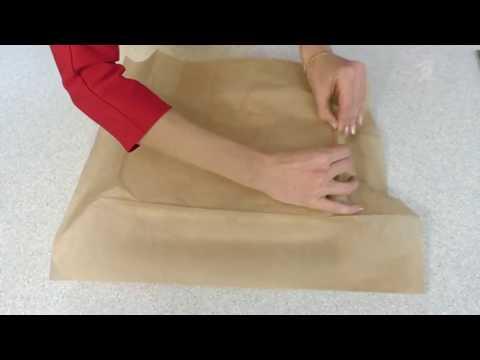 Как использовать бумагу для запекания