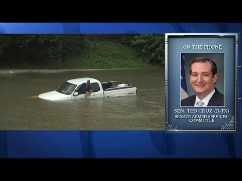 Sen. Ted Cruz Discusses Hurricane Harvey