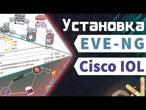 Установка EVE-NG  с Cisco IOL на Windows 10