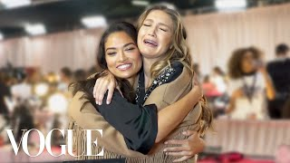 Gigi & Bella Hadid, Taylor Hill and More Victoria's Secret Models Play Two Truths and a Lie | Vogue