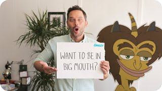 Big Mouth's Nick Kroll Wants to Make Your Weird Dreams Come True // Omaze