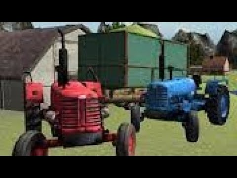 tractor trolley car game