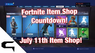 Don skins!! FORTNITE ITEM SHOP COUNTDOWN 11 juillet magasin d'objets Fortnite battle royale