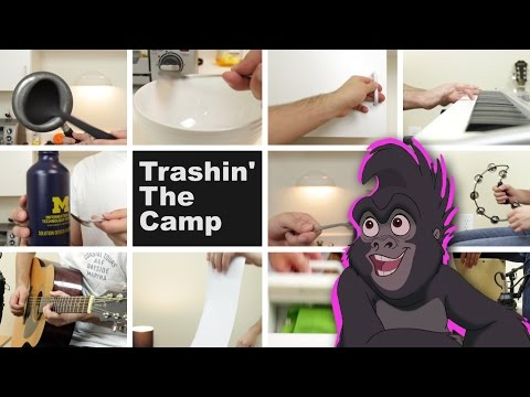 Trashin' The Camp (Disney's Tarzan) - Played With Household Items
