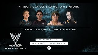 VPL Fantasy All-Stars - Week 1 - Day 1 Draft