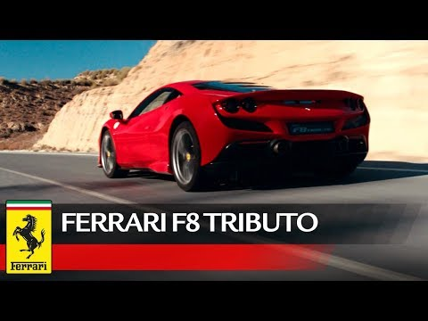 Watch the Ferrari F8 Tributo in its first official videos