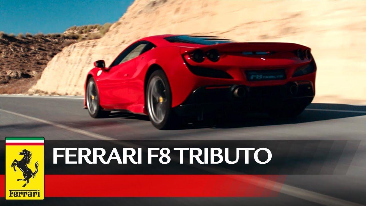 Ferrari F8 Tributo Official Video Youtube