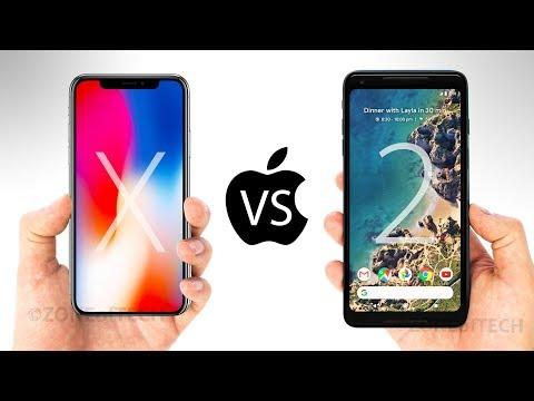 iPhone X vs Google Pixel 2 XL