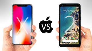 Google Pixel 2 XL vs iPhone X - Display, Specs, Camera, Features, P...