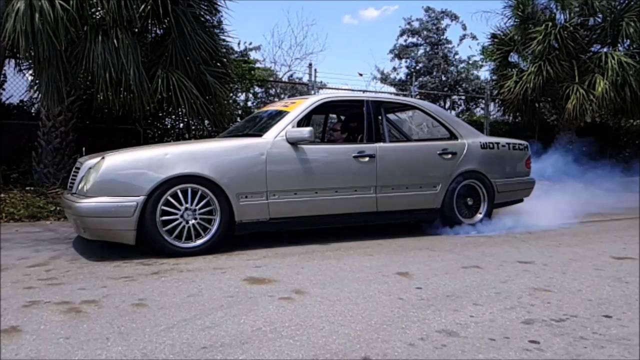 LS1 Swapped Mercedes Benz w210 burnout