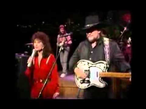 Waylon Jennings and Jessi Colter- Suspicious Minds