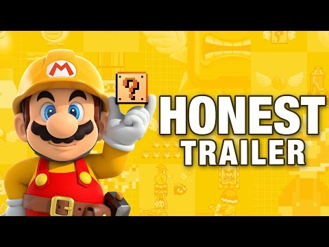 SUPER MARIO MAKER (Honest Game Trailers)