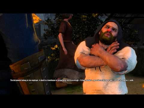 The Witcher 3 Act 1 - The Dwarven Document Dilemma