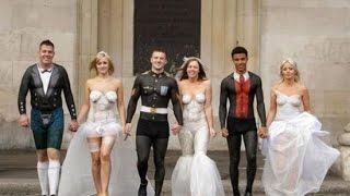Свадебные приколы - Wedding compilation, Wedding fail