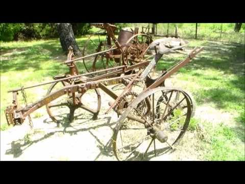 Horse Drawn Plows, Planters And Sickle Mowers .  Also A Farrier's Forge.