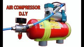 Máy bơm hơi khí nén mni tự chế có van ngắt tự động (zalo/phone: 0903572864)