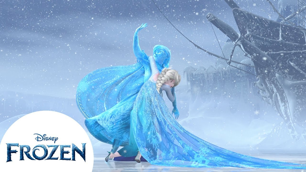 Anna Turns Into Solid Ice | Frozen