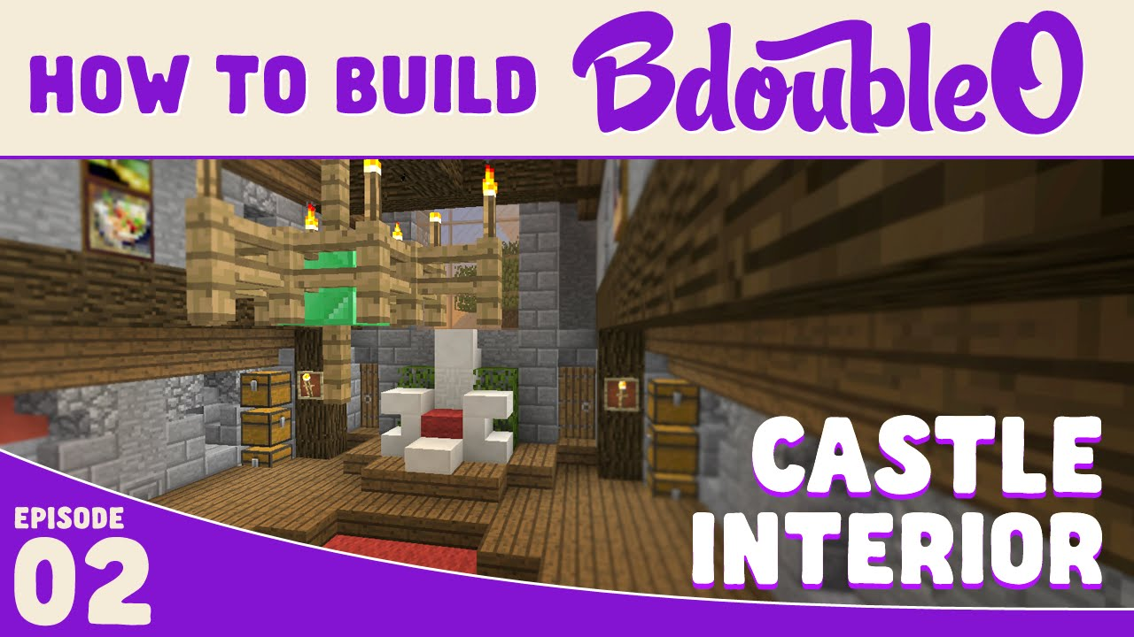 Minecraft Tutorial How To Build Castle Interior