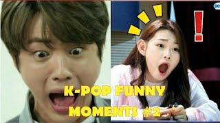 KPOP FUNNY MOMENTS (TRY TO NOT LAUGH CHALLENGE) PART 2