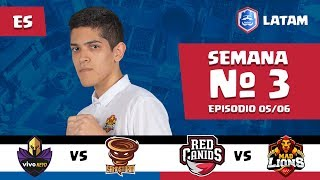 CRL LATAM: Vivo Keyd vs Sandstorm | Red Canids vs Mad Lions
