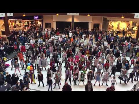 Thriller World Record attempt - Calgary 2016