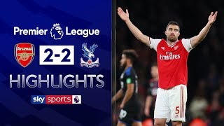 Arsenal denied late winner by VAR! | Arsenal 2-2 Crystal Palace | EPL Highlights