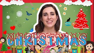 Spanish CHRISTMAS Words with Rosa!
