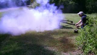 Type 92 Battalion Gun-Test Fire