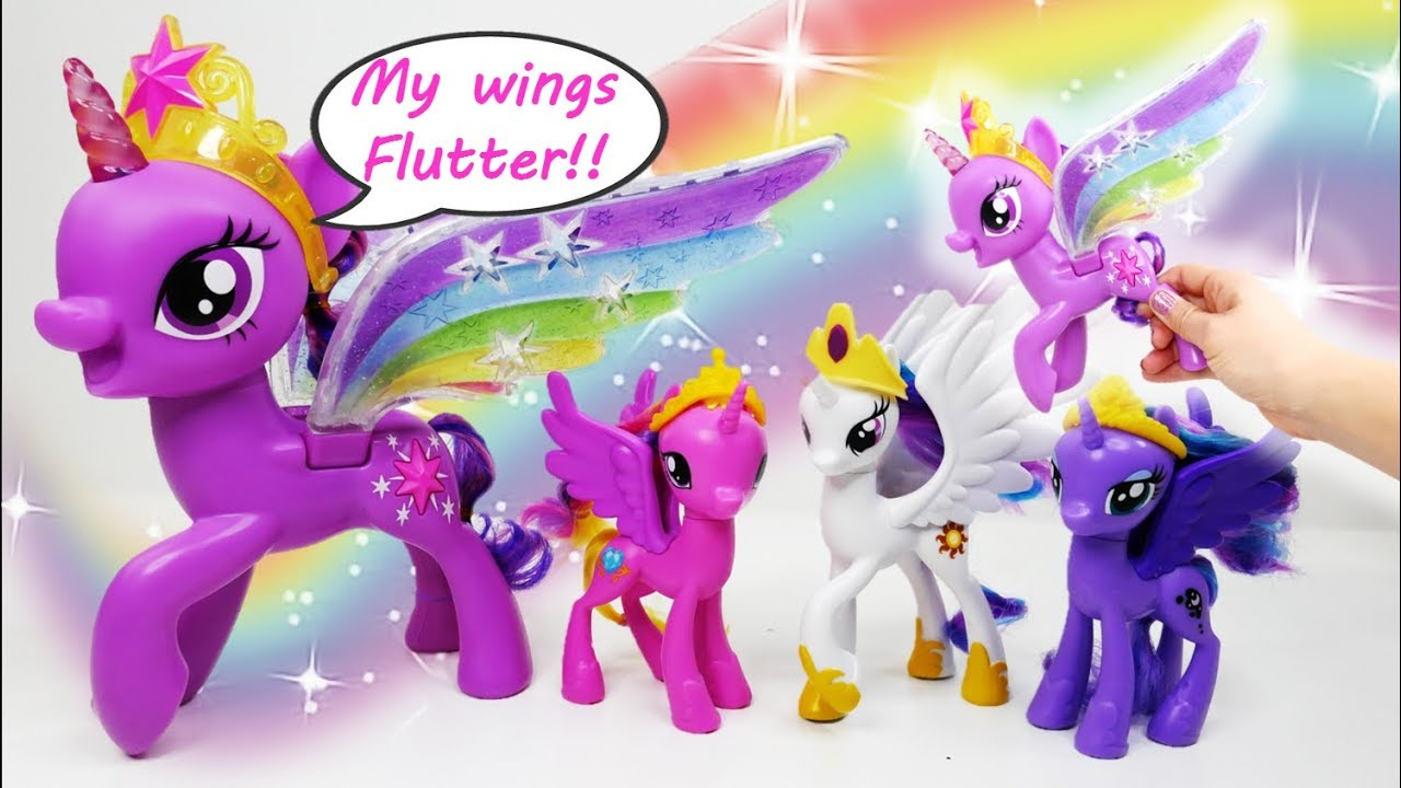 6e8cadb5649 Rainbow Wings Twilight Sparkle and Royal Ponies of Equestria with ...
