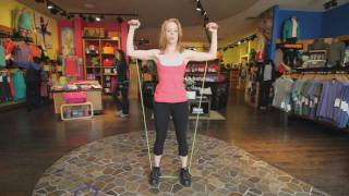 Tension Band Workout - Training Video for Women on Toning Your Muscle Definition
