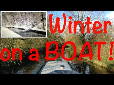 DNL: Living on a Narrowboat at Winter Documentary