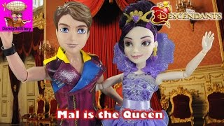 Mal is the Queen of the Isle of the Lost - Part 6- Rotten to the Core Descendants Disney