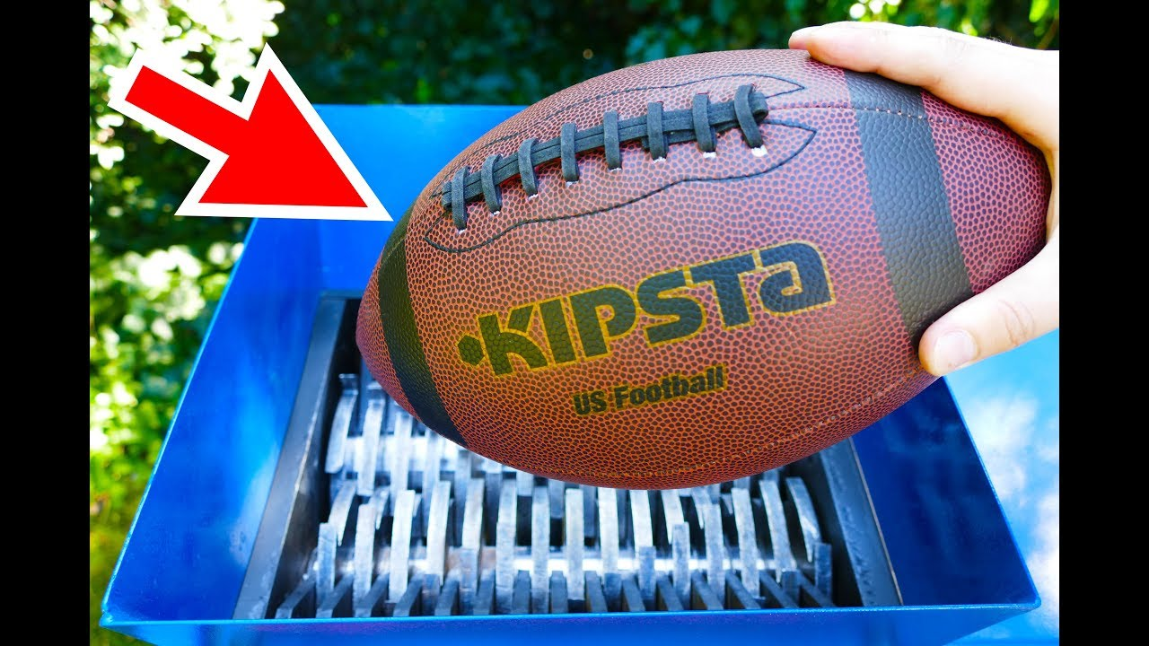 how to make a football throwing machine