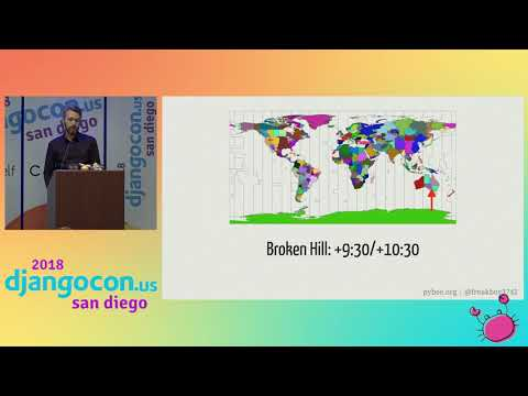 DjangoCon US 2018 - It's about time by Russell Keith-Magee