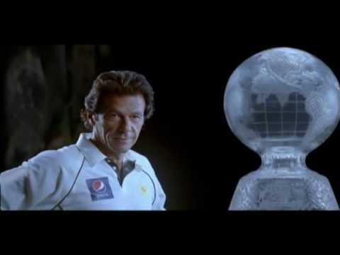 Pepsi (Pakistan) AD with (Legend) Imran Khan and Waseem Akram (Cricket Hunt) - PTC