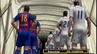 Trik dan cara terbaru bermain TIKI TAKA ala Barcelona di PS2 khusus PES