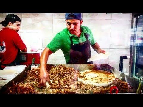 Mexican Incredible Pork Tacos Street Food