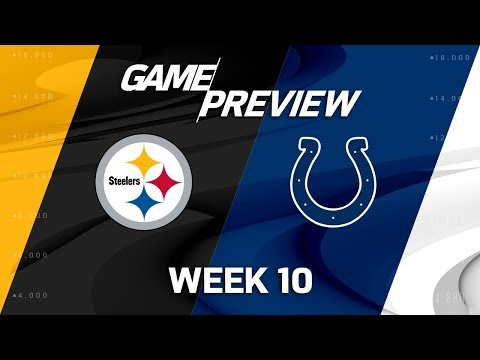 Pittsburgh Steelers vs. Indianapolis Colts | NFL Week 10 Game Preview | NFL Playbook