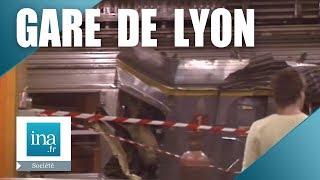 27/06/1988 : Accident de train Gare de Lyon | Archive INA