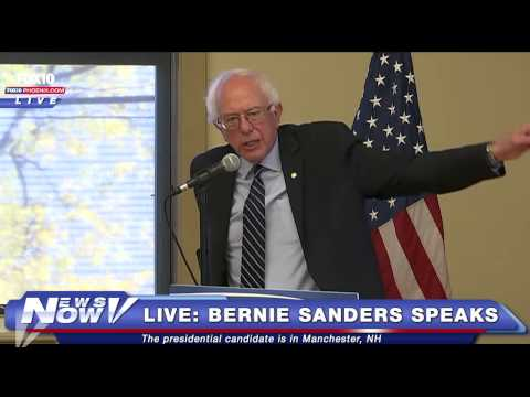 FNN: Bernie Sanders Speaks in Manchester, NH on Oct 30, 2015