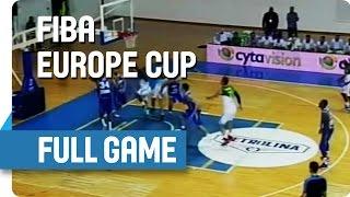 AEK (CYP) v Sigal Prishtina (KOS) - Full Game - Group K - FIBA Europe Cup