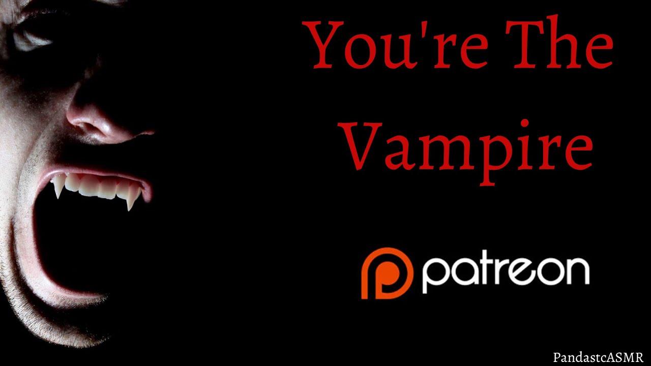 [ASMR] Checking In On Your Best Friend [Reverse Vampire] • [🐼♨] • [M4M?]