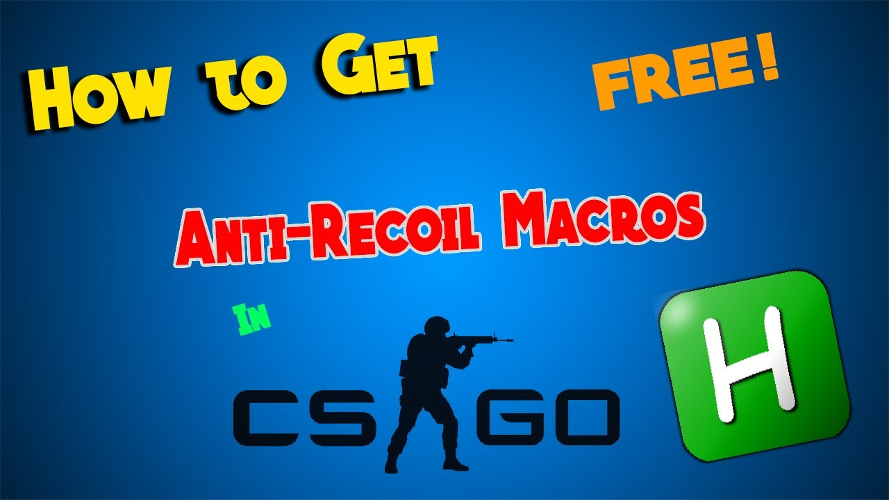 How to Get ANTI RECOIL Scripts in CS:GO!! (NO VAC BAN)(2017)(Not currently  working)