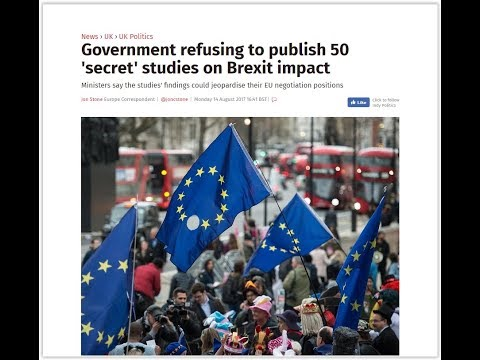 Brexit fallout: Tories refuse to release NHS cost of Brexit research
