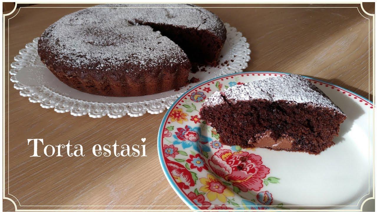 Ricetta Torta Estasi Alla Nutella.Torta Estasi Ricetta Facile E Buonissima Youtube