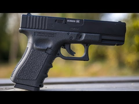 REVIEW: Glock 19 OFFICIAL Replica BB CO2 4.5mm Air Pistol