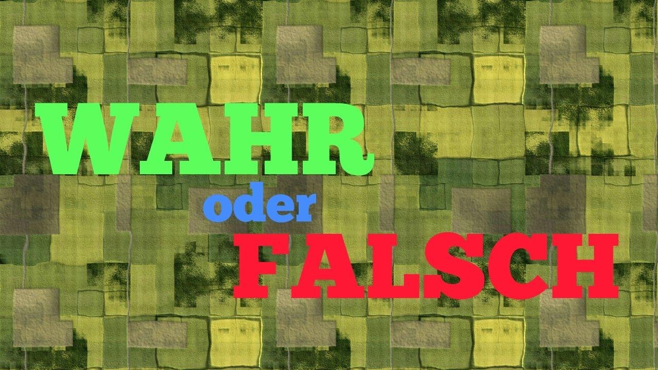 Spieletipps Wahr Oder Falsch