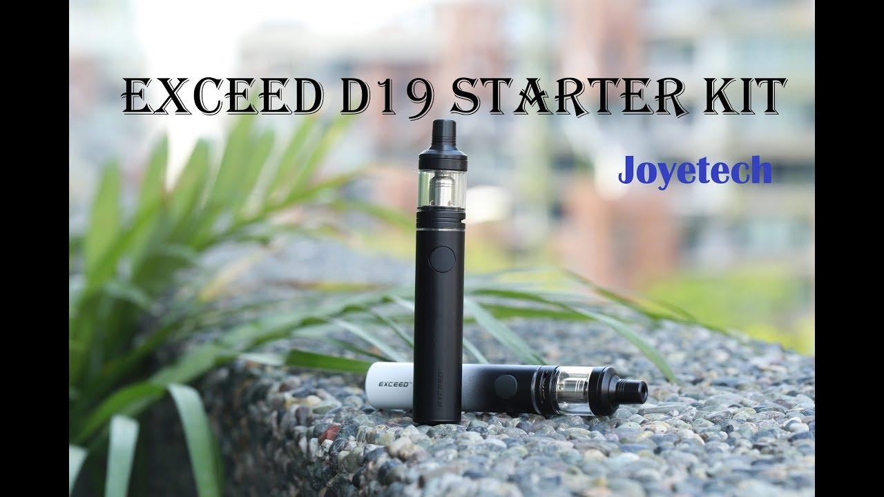 Joyetech Exceed D19 Starter Kit - 2.0ml & 1500mah on