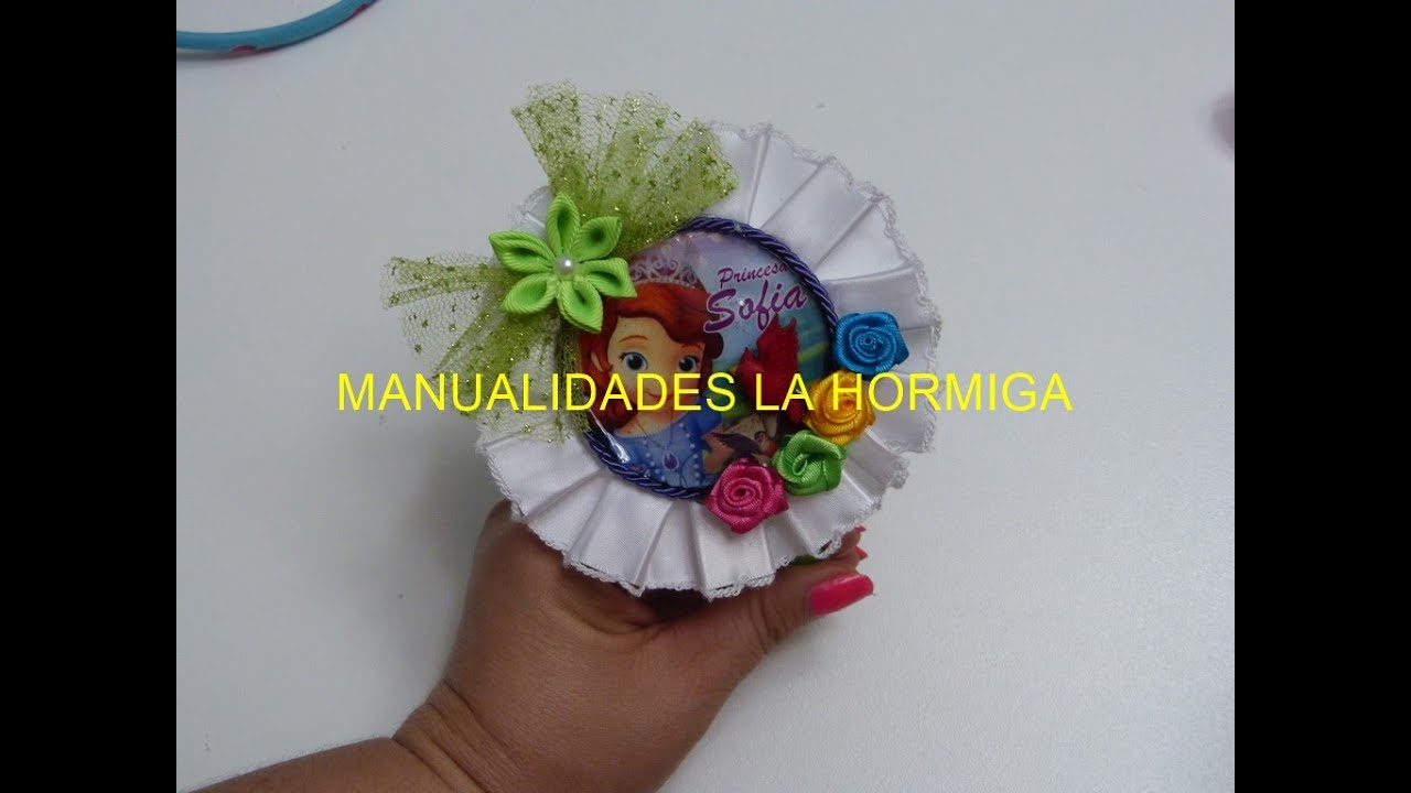 Como hacer diademas how to make headbands mo os para ni as youtube - Como hacer diademas ...