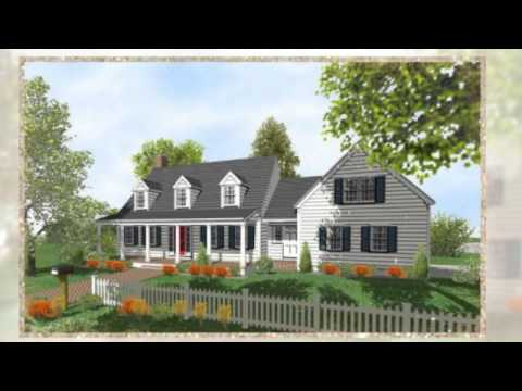 Traditional Cape Cod Floor Plans